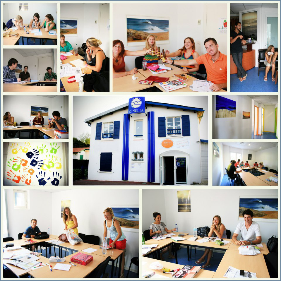 Biarritz-French-course-collage