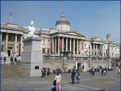 The National Gallery - Trafalagar Square